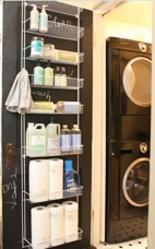 diy small laundry room organization, laundry room organization ideas for large families, organize laundry room on a budget, products to organize laundry room